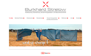 Website Burkhard Strelow